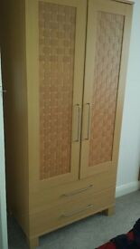 wardrobe, chest of drawers, bedside cabinet and tall drawer unit