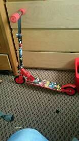 Lego mixels folding scooter