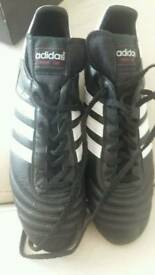 ADIDAS WORLDCUP FOOTBALL BOOTS SIZE 10 WORN 10 MINUTES