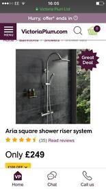 Brand New Thermostatic Shower Kit