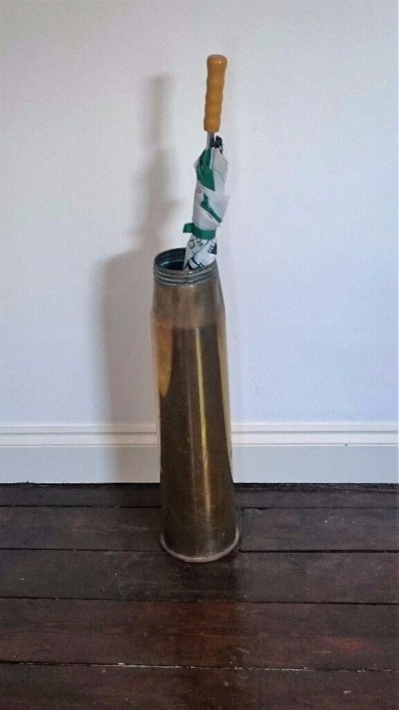 Umbrella Stand Wwii French Artillery Shell In