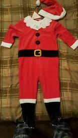 9-12 month santa suit
