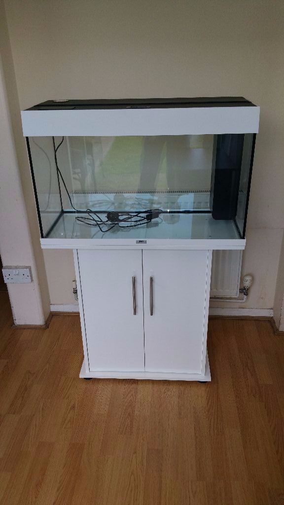 juwel rio 125 litre fish tank and stand full setup in