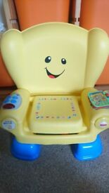 Fisher Price Laugh and Learn Chair in great condition