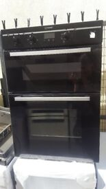 Irelands Appliance Centre - Second Hand - Black In Colour - Indesit Double oven - Good Condtion