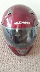 Red duchinni helmet