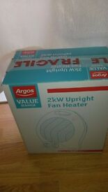 Argos electric fun heater