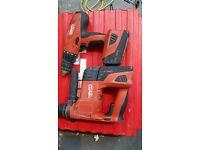 HILTI TE4 A-22 SDS HAMMER DRILL & SFH22-A SET