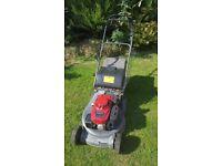 Honda HRD 536 petrol self drive lawnmower
