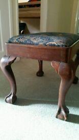 Antique style stool