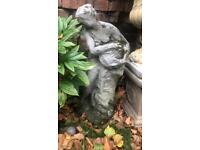 Gorgeous stone garden statue