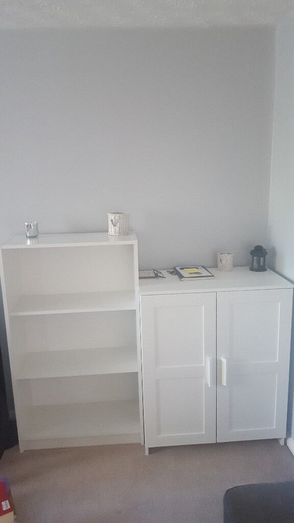 Book shelf and cupboard