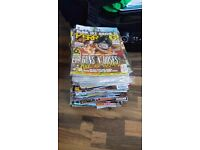 Kerrang Magazines, Posters, Stickers, Tattoos, CDs