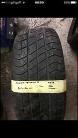255/55/19 111H Goodyear wrangler HP tyre