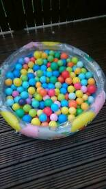 Childrens Kids Pop Up Ball Pit Play Baby Ball Pool
