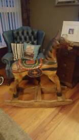 Large Display Rocking Horse