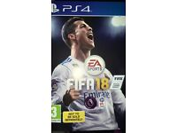 Ps4 game - Fifa 2018 - brand new - bargain feel free to check my other items cheap - game - ps4