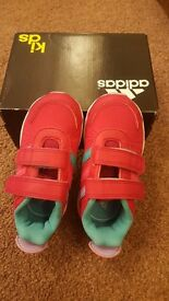 Original Adidas shoes UK size 6 (2 to 3 years) at £7
