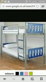 Exactly like these. But cannot go up as bunks.