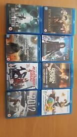 Selection of Blu-Rays