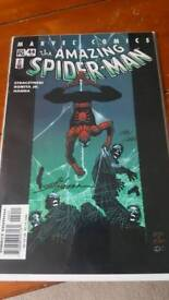 The Amazing Spider-Man comic signed