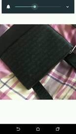 Armani black pouch