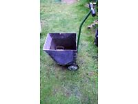 vintage 1960/70 garden trolley carry barrow.for use in gardens. allotments or display