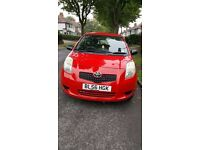 2007 Toyota Yaris 1.0 VVT-i T2 3dr - Lady owner from nearly new. mint condition