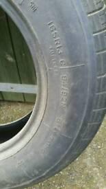 "2 13"" tyres"