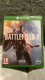 Xbox one Battlefield 1 new SEALED