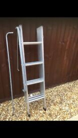 LOFT LADDER - ALUMINIUM - 3 SECTION