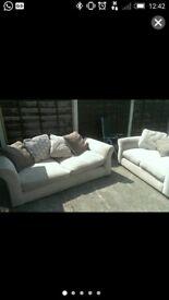 DFS 3&2 seater sofas
