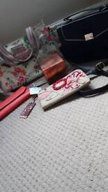 Bags, purse and perfume bundle (redcued)