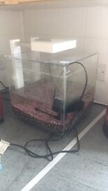 Nano Fish Tank and Stand