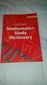 Maths study dictionary