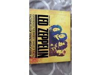 'The Treasures of Led Zeppelin' box set / book - including facsimiles of rare docs / posters etc
