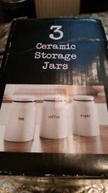 Brand new ceramic storage jars high quality