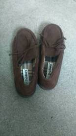 OFFERS! - Mens Slippers Size UK8 Brown (Non-worn) - OFFERS