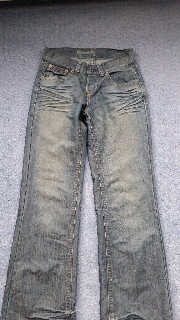 Women Bench Jeans, 28 Waist, Button Back Pockets, Great condition, Contact me soon as, cheap at £10