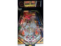 Williams cyclone pinball machine