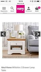 One drawer Lamp Table/side table