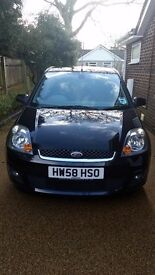 Ford Fiesta 1.2 Zetec Climate 2008 58 plate
