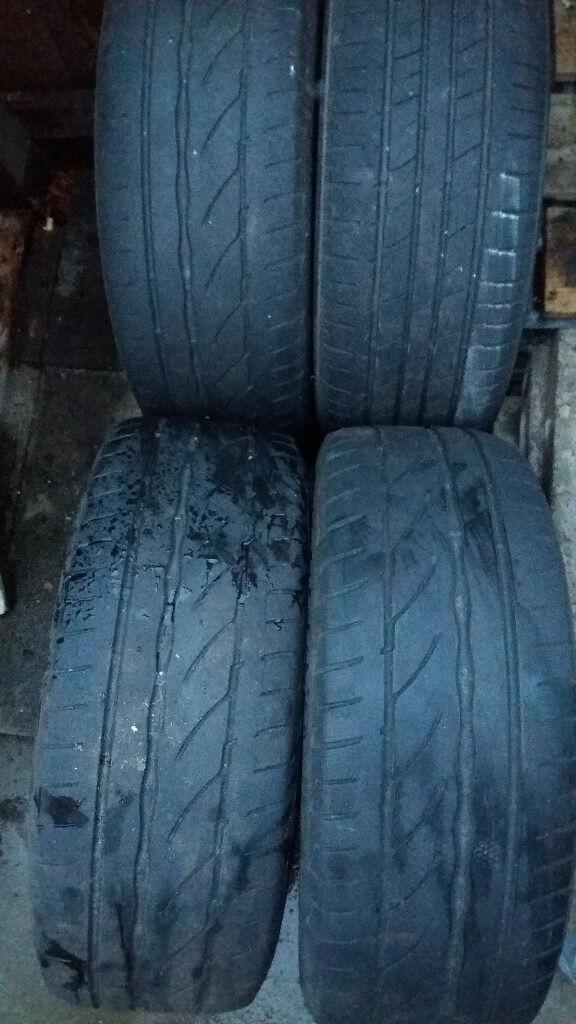 4 x bridgestone tyres