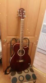 PURDI Acoustic Electric Guitar Sw206ce-tr 6 String Right Handed FULL SIZE