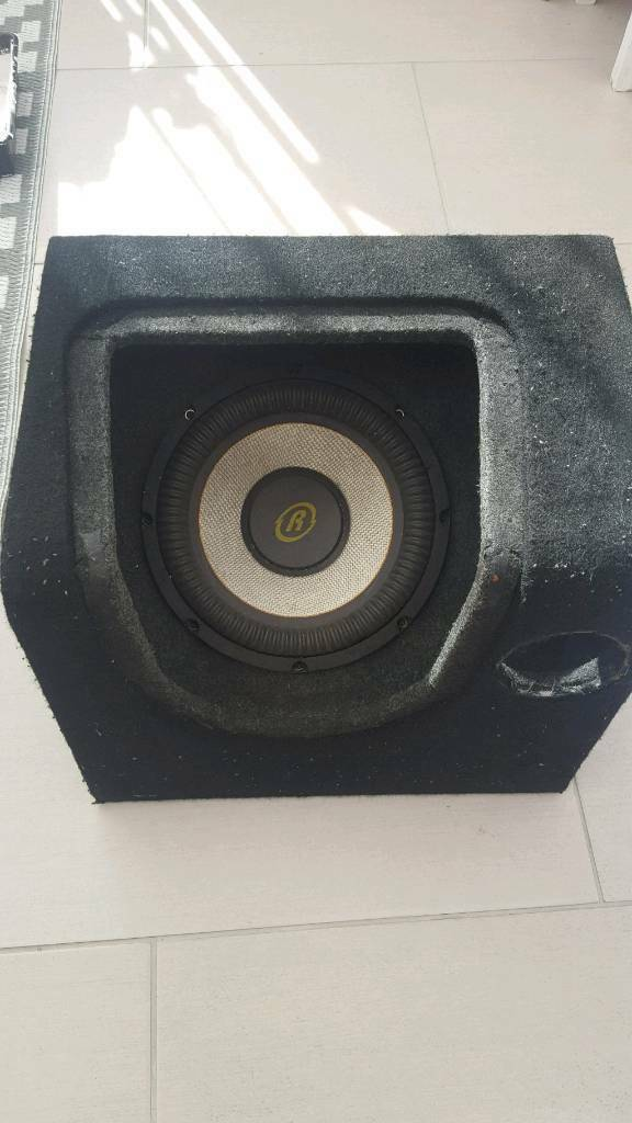 "10"" Subwoofer in Black Box"