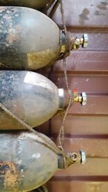 MK12 Air Storage (Diving) Cylinders x 6 (will sell individually if required)