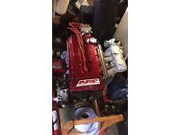 Honda integra b18c typeR engine black!!!!! civic ek9 dc2