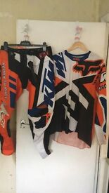 **KTM JERSEY AND TROUSER SET**