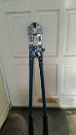 Large bolt croppers