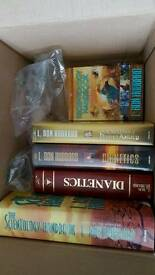 Scientology books and DVDs